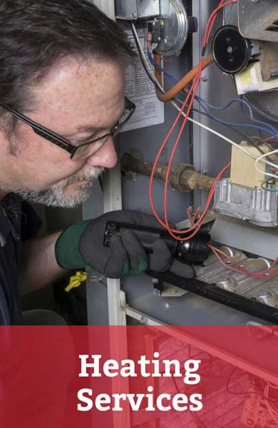 Is your heating system acting up? Call our team today for expert heating system service, repair or replacement!